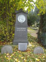 Grab von Luise Büchner, Alter Friedhof Darmstadt