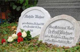 Grabstein Mathilde Büchner