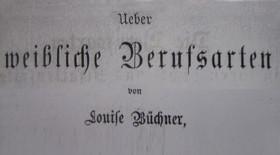 'Weibliche Berufsarten' von Luise Büchner