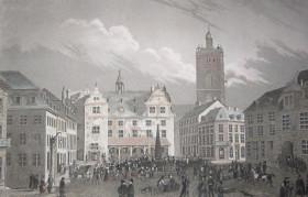 Markt Darmstadt 1830