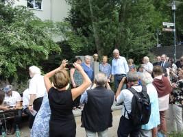 Festakt mit Edda Fees, Agnes Schmidt, Barbara Akdeniz & OB Partsch