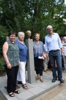 Edda Fees, Agnes Schmidt, Luise Büchner, Barbara Akdeniz, Jochen Partsch (von links) Foto: Jutta Schütz