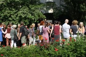 Feier zur Enthüllung des Denkmals Foto: Jutta Schütz