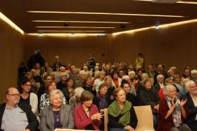 Symposium am 25.11.2017. Vortragssaal der Universitätsbibliothek. Foto: Jutta Schütz