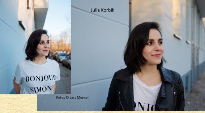 Sonntag, 25. November um 11 Uhr<br>Verleihung des Luise-Büchner-Preises für Publizistik 2018 an Julia Korbik