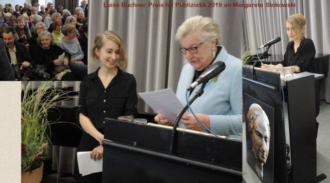 Luise-Büchner-Preis für Publizistik